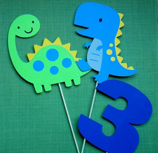 Dinosaur Centerpiece/ Dinosaur Birthday Party/ Boy Dinosaur Party/ Dinos Party Theme/ Dinosaur Party Supplies/ Dinosaur 1st Birthday/ Trex