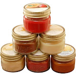 3oz 6ct Holiday Collection Scented Candle Set - LumaBase