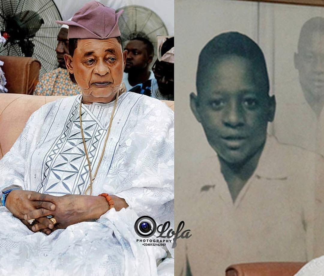 Throwback Photo Of Alaafin Of Oyo When He Was A Prince