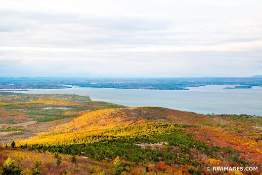 Photo Print of NEW ENGLAND FALL COLORS CADILLAC MOUNTAIN ACADIA NATIONAL PARK MAINE LANDSCAPE Print Framed Picture Fine Art Photography Large Print Wall Decor Art For Sale Stock Image Photo Photograph High Resolution Digital Download Aluminum Metal Acrylic Canvas Framed Photo Print Buy Photo by Robert Wojtowicz Fine Art Photographer