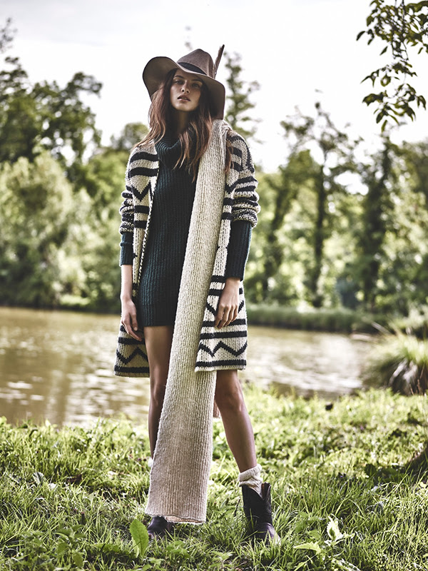 Bohemian Inspired Fall Sweaters and Knits