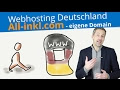 Web Hosting Deutschland mit All-Inkl.com | Wordpress eigene Domain 💢 2020