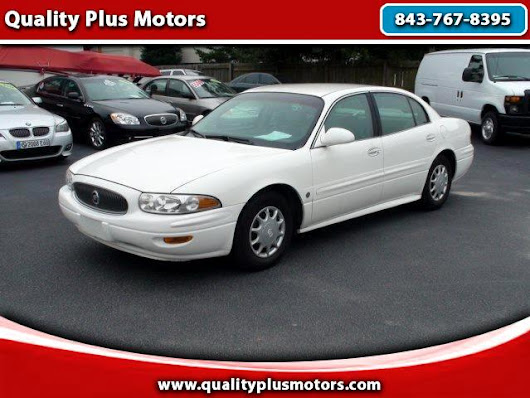 Used 2004 Buick LeSabre for Sale in Charleston SC 29407 Quality Plus Motors