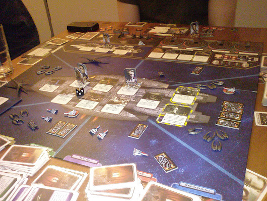 Battlestar Galactica The Board Game Review
