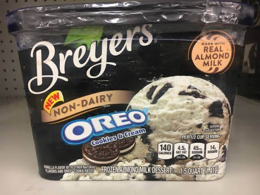 Breyers Secretly Releases Almond Milk Ice Cream