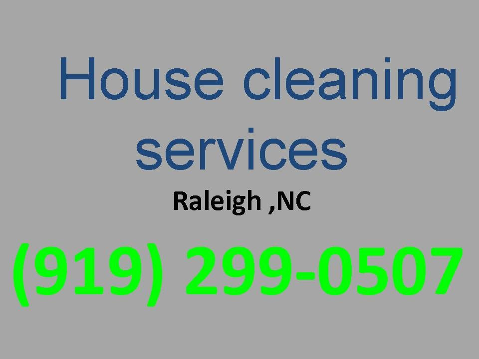 House Cleaning Services Raleigh ,NC |(919) 299-0507| House Maid ...