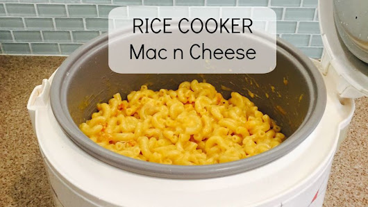 Rice Cooker Mac n Cheese!