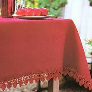 Free Crochet Tablecloth Pattern
