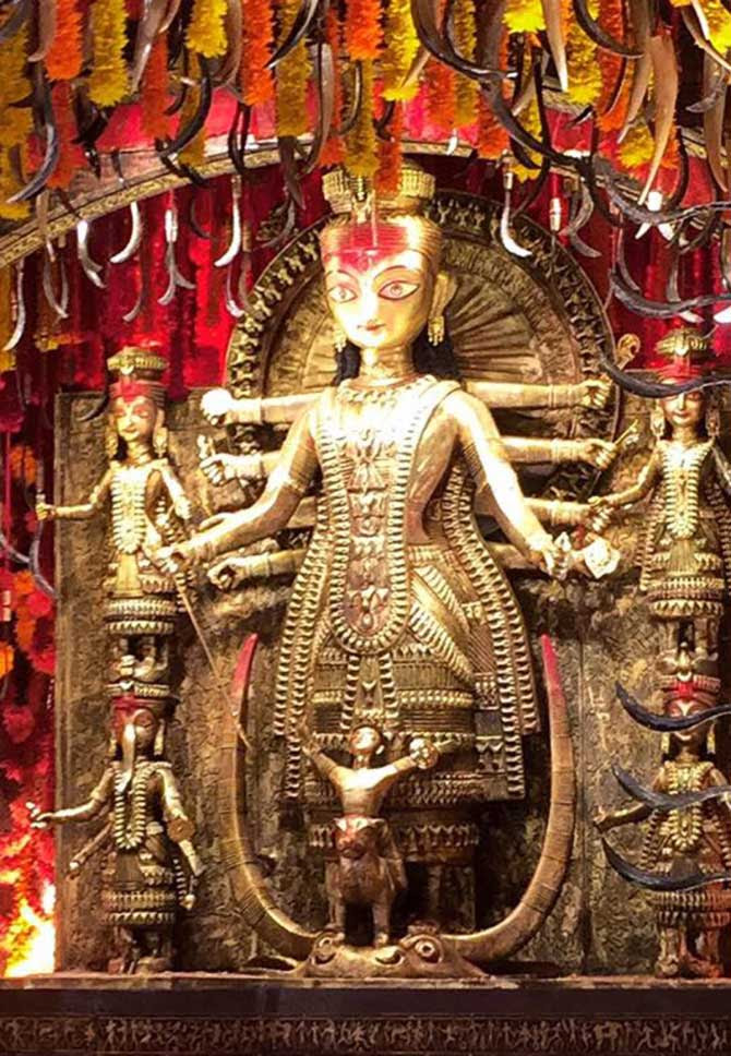 Durga Puja : Stunning, creative pics from the pandals in West Bengal