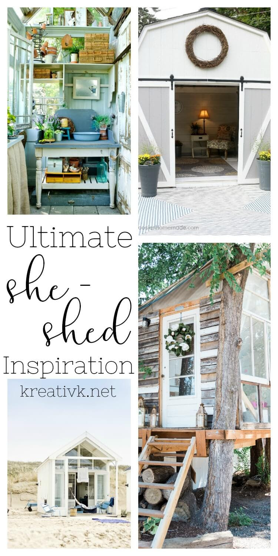 Ultimate She-Shed Inspiration | Kreativ K