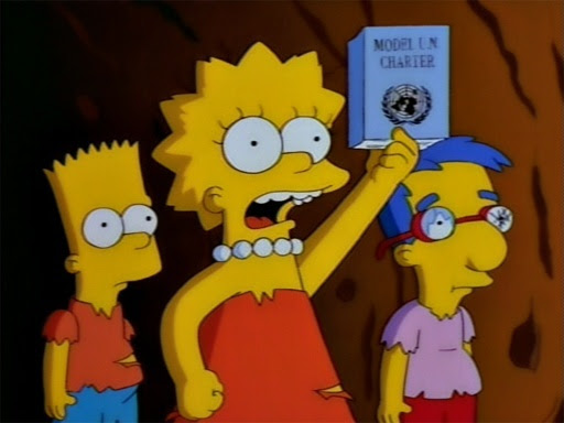 Simpsons les petits sauvages lord of the flies