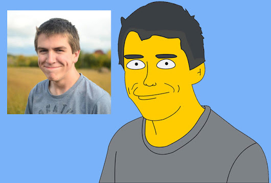 I will draw you as a SIMPSON cartoon character for $5