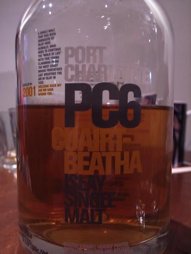 006,[酒]Bruichladdich Port Charlotte 6年(PC6):布魯萊迪 蘇格蘭純麥威士忌