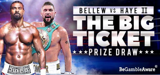 Bellew v Haye Tickets To Be Won At bgo |