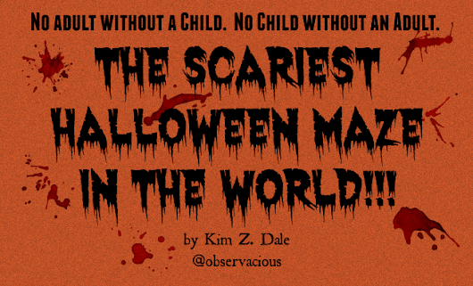 The Scariest Halloween Maze in the World