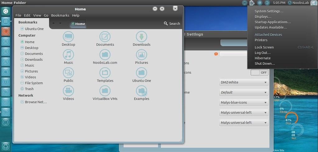 ubuntu 12.04 themes