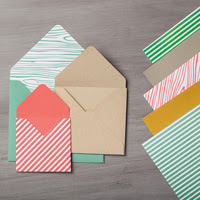 2015-2017 In Color Envelope Paper by Stampin' Up!