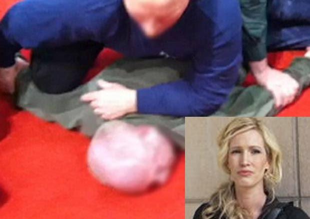 Suspeito tentou filmar por baixa de saia de Jenifer DeMarre. (Foto: Reprodução)