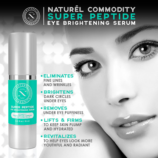 Naturel Commodity Super Peptide Eye Serum Review #NaturelCommodity