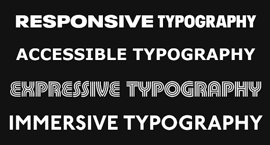An Exploration of Variable Fonts – Prototypr