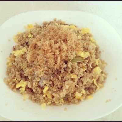 Fried rice.:)  (Taken with Instagram)