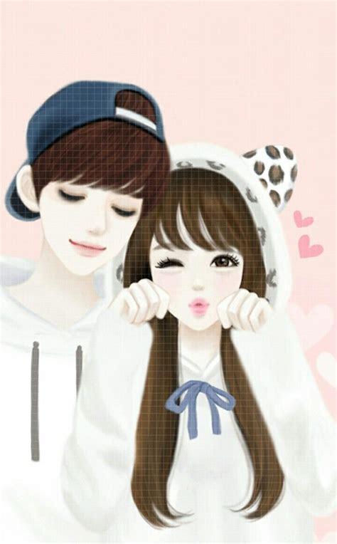 pin  honggam onhg anime love couple cute anime
