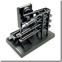 Time Machine Tabletop Clock