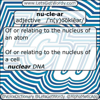 Nuclear 01/02/2013 GFX Definition of the Day