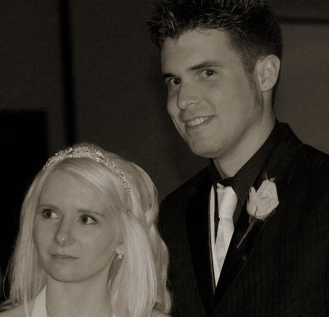 Wedding Photo B&W