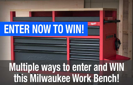Tool Giveaways | Milwaukee 52-inch Mobile Work Bench