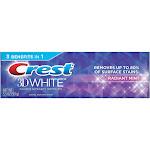 Crest 3D White Radiant Mint Whitening Toothpaste 3.5 oz