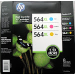 HP 564XL High Yield Ink Cartridge Color Combo-Pack