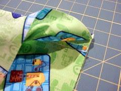 22-Fold rst (enclosing seam)