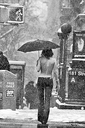 Topless em Nova Iorque 3 por Jordan Matter