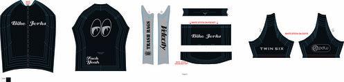 Bike Jerks Jersey Gray
