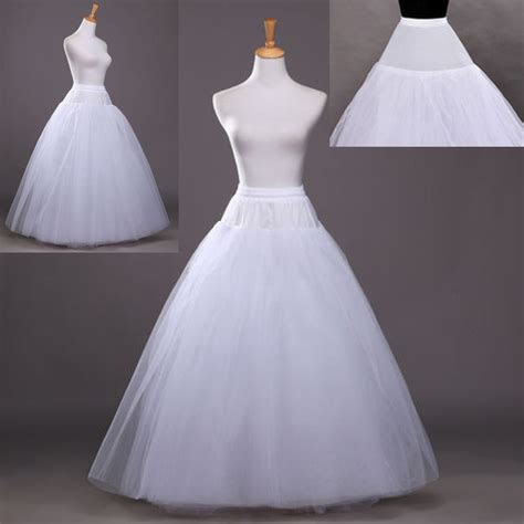 Beauty 3 Layer Bridal Petticoat Crinoline Long Wedding
