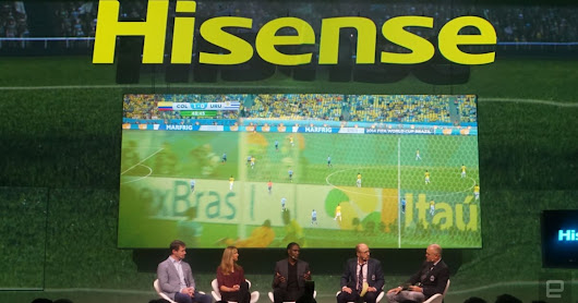 Hisense's exclusive World Cup TV app will stream games in 4K HDR
