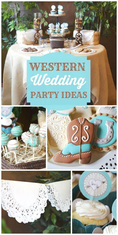 Shabby Chic Western Wedding Shower / Bridal/Wedding Shower