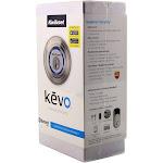 Kwikset Kevo Smart Lock with Keyless Bluetooth Touch Satin Nickel