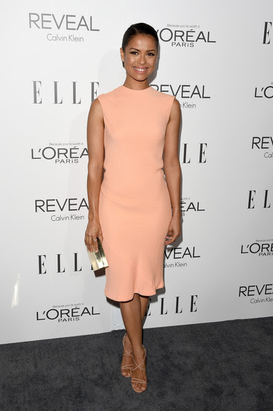 Actress Gugu Mbatha-Raw attends ELLE's 21st Annual Women in Hollywood Celebration at the Four Seasons Hotel on October 20, 2014 in Beverly Hills, California.