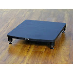 VTI 34441 Pro 34000 Series Amp Stand (Black Pole Black Shelf)