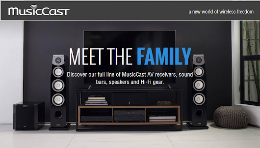 Yamaha MusicCast Wireless Music System Revolutionizes Whole Home Streaming
