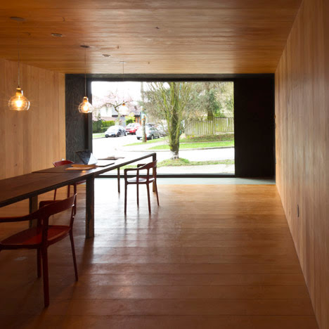 Scott & Scott Architects build their own timber-lined studio