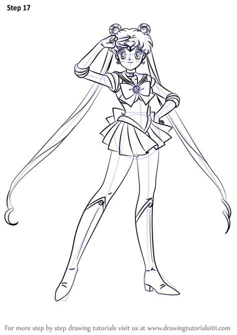 learn   draw sailor moon sailor moon step  step