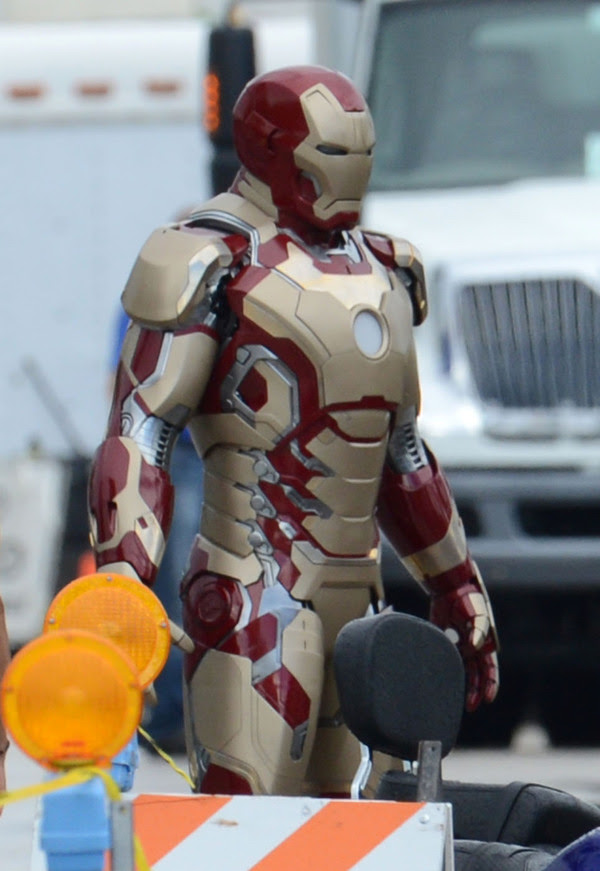 Iron Man 3 Armaduras