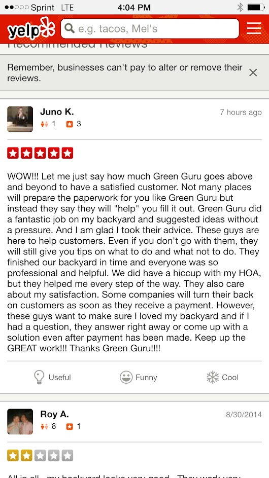 Green Guru Landscaping Reviews - Home