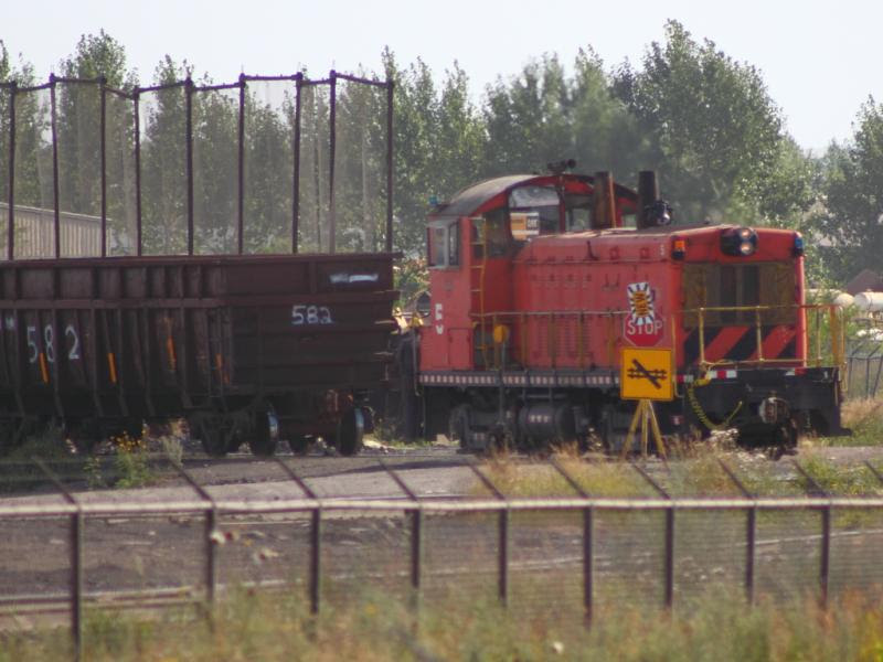 Evraz switcher 5 in Regina