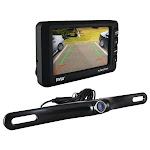 """4.3"""" LCD Monitor & Wireless Backup Camera with Parking-Reverse Assist System"""