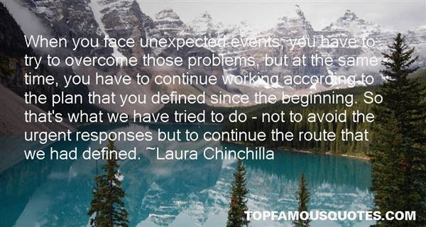Unexpected Events Quotes Best 5 Famous Quotes About Unexpected Events