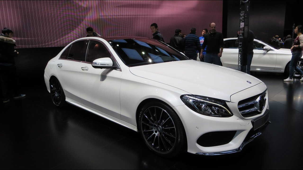 2015 Mercedes C400 4Matic At The 2014 NAIAS Auto Show ...
